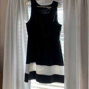 Hawthorn Black & white dress. Size XL